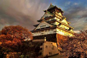 Zamek w Osace